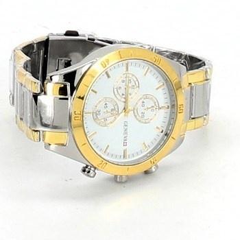 Pánské hodinky Geneva zlaté
