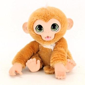 Plyšová opička Zandi Hasbro E0367 Fur Real