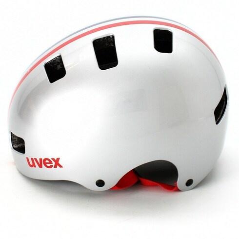Cyklistická přilba Uvex Kid 3 Silver 55-58