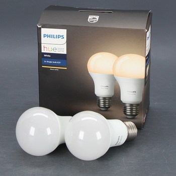 LED žárovky Philips Connected White E27 9W