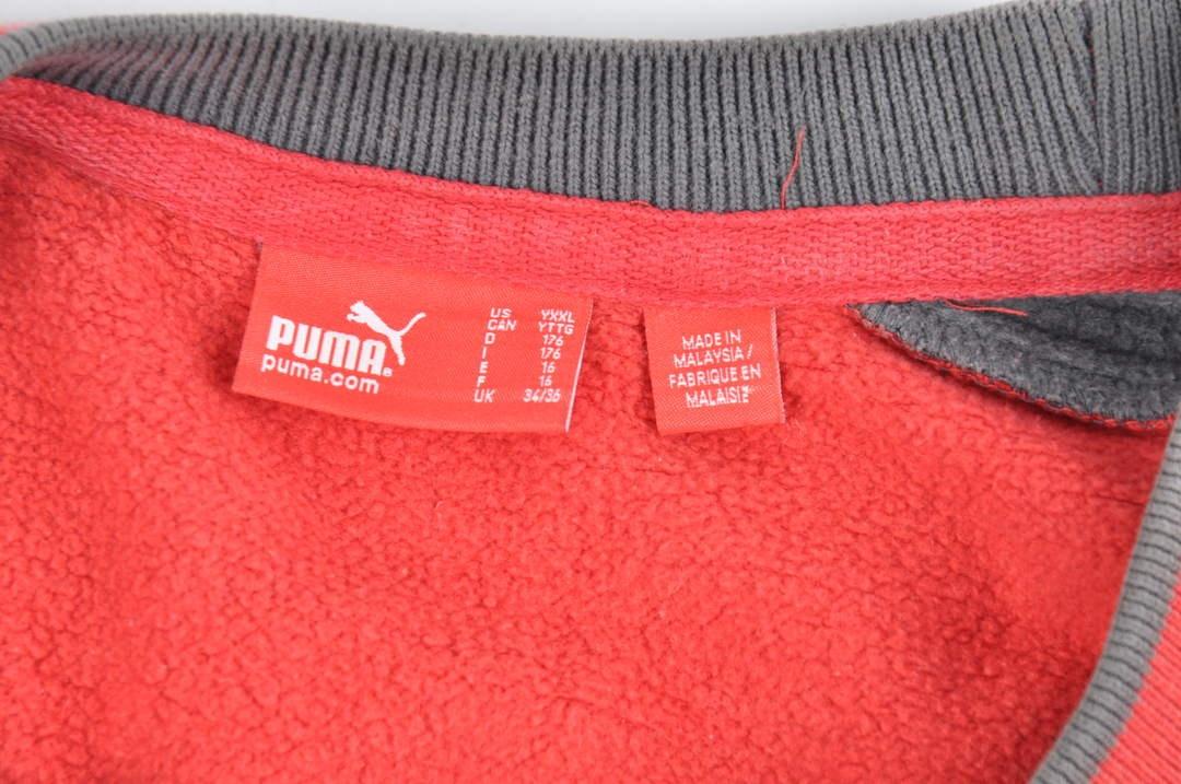 Pánská červená mikina Puma