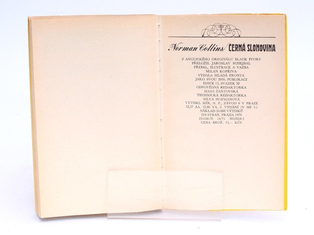 Kniha Mladá fronta Černá slonovina Norman Collins