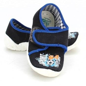 Černé dětské pantofle Ren But