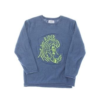 Dětský svetřík ZARA modrý