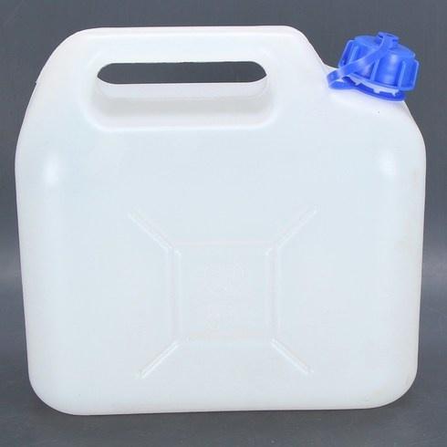 Kanystr na vodu s výpustkou u dna 5 litrů