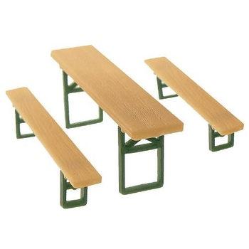 Model pivních laviček Faller 272442