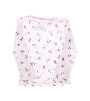Dětské tričko F&F s potiskem růžové