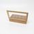 Úložný box Kesper na čaj dřevěný