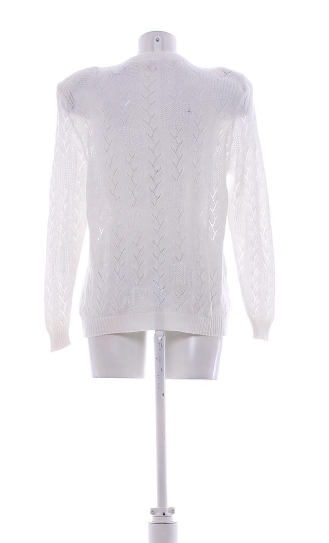 Dámský svetřík FAJD bílé barvy