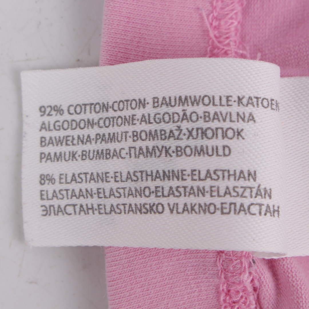 Dětské kalhoty bavlněné a růžové legíny