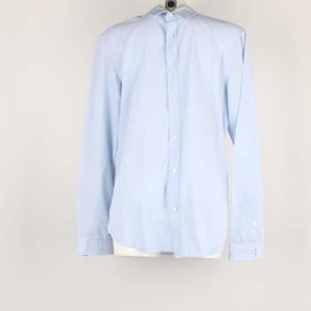 Pánská košile H&M odstín modré