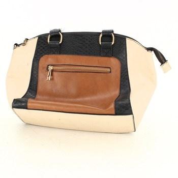Dámská kabelka F&F černobéžová