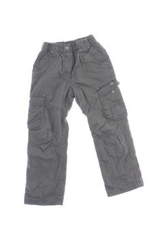 Dětské plátěné kalhoty Glo-Story šedé