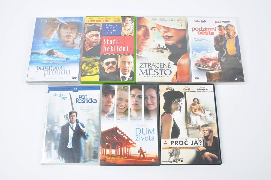 DVD - A proč já, Ztracené město, Dům života apod.