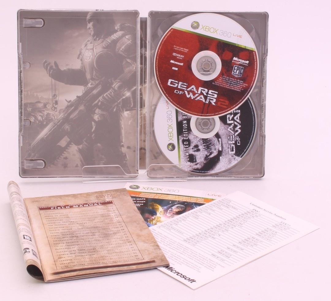 2x hra na XBOX 360 - Gears of War I. a II