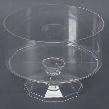 Plastová nádoba Amscan průhledná