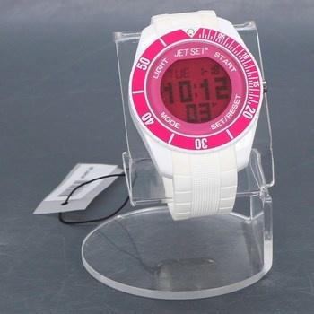 Dámské hodinky Jet Set J9349 bílo/růžové