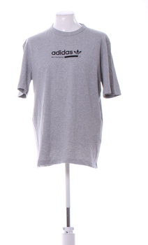 Pánské tričko Adidas šedé barvy