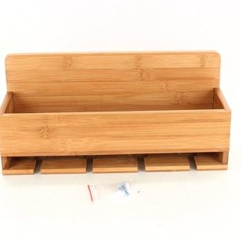 Dřevěná polička, šířka 36 cm
