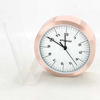 Nástěnné hodiny Polaroid růžové