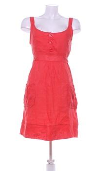 Dámské šaty Made in Italy červené