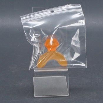 Dětský dudlík Machouyou oranžový