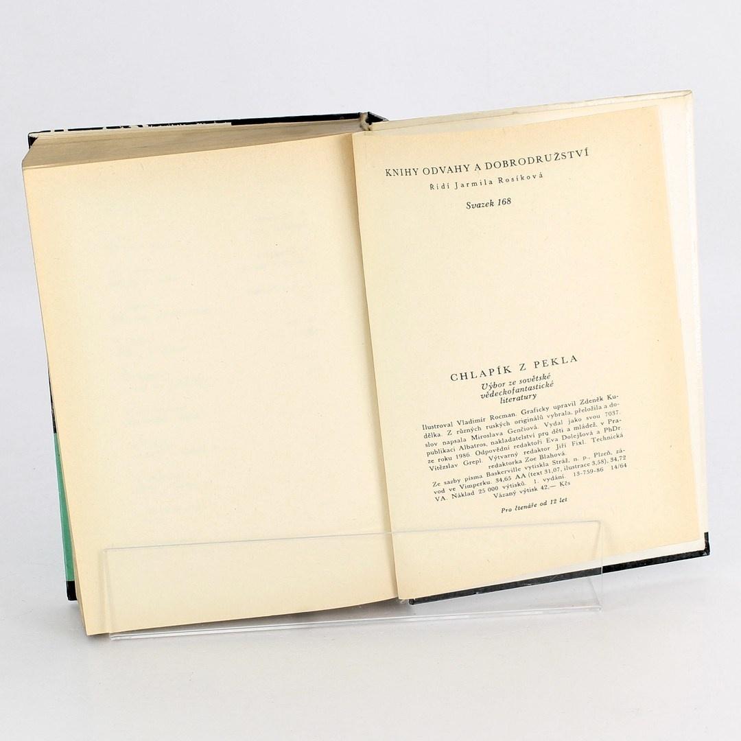 Kniha Chlapík z pekla Miroslava Genčiová