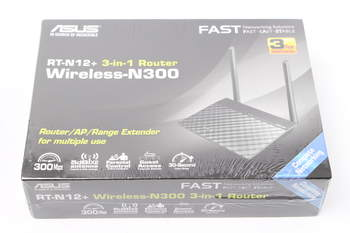Wifi router Asus RT-N12+