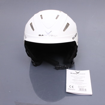 Lyžařská helma Black Crevice Ischgl