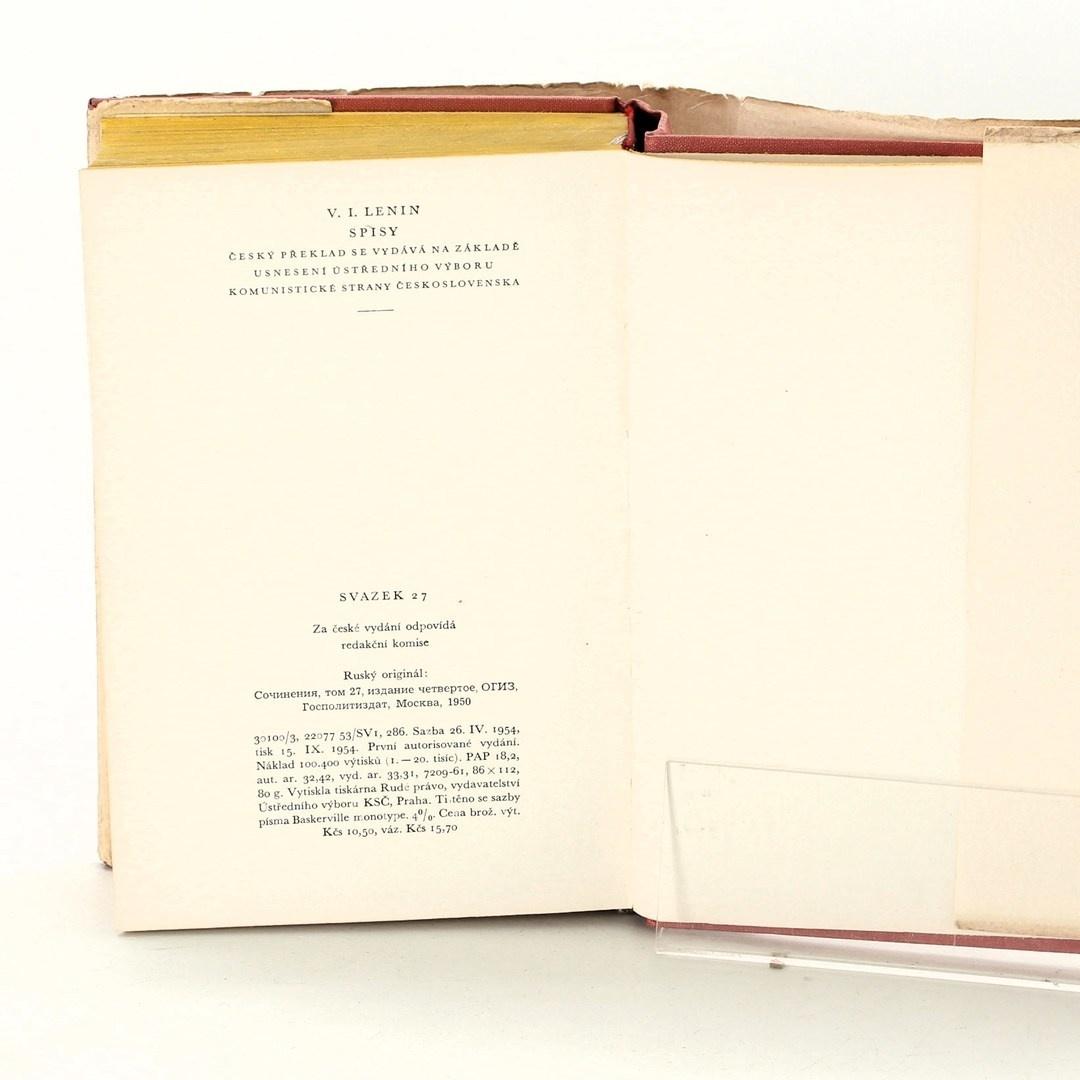 Kniha Vladimír Iljič Lenin: Lenin spisy