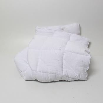 Bílý chránič matrace Bedecor