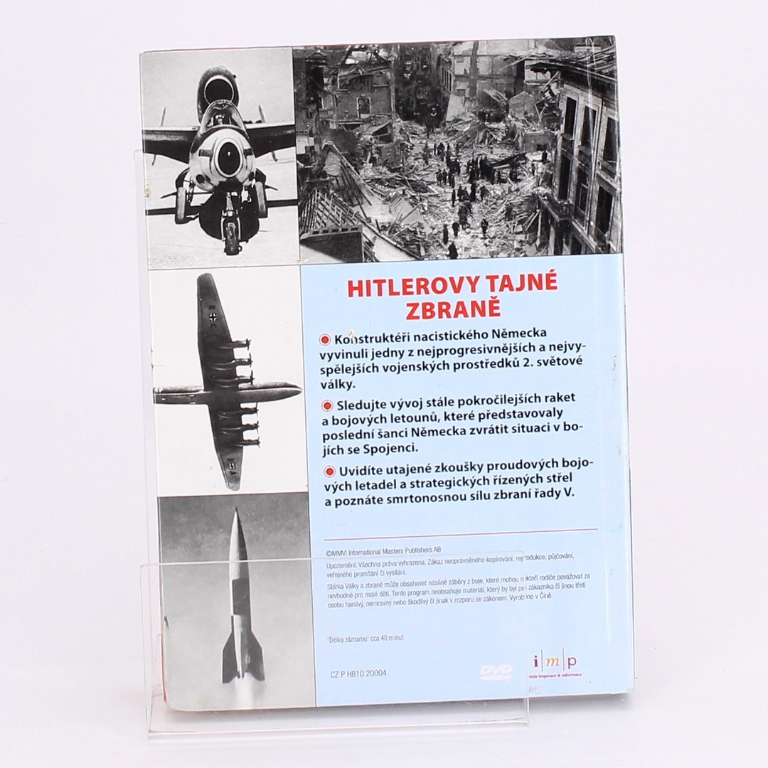 DVD Hitlerovy tajné zbraně