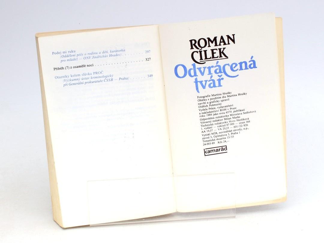 Kniha Roman Cílek: Odvrácená tvář