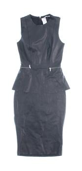 Dámské šaty ZARA se zipem v pase černé