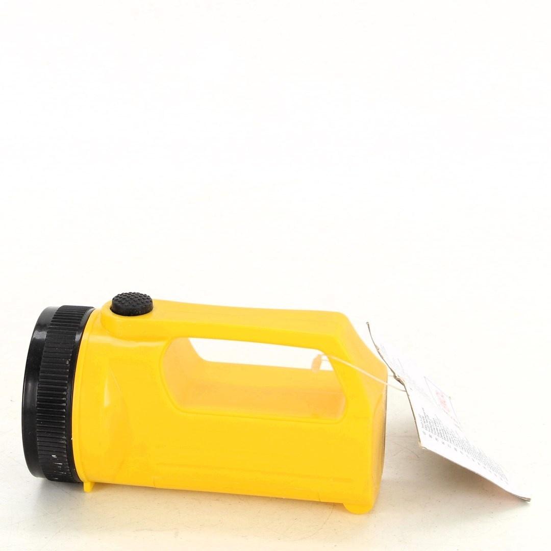 Ruční svítilna Kinzo žlutá