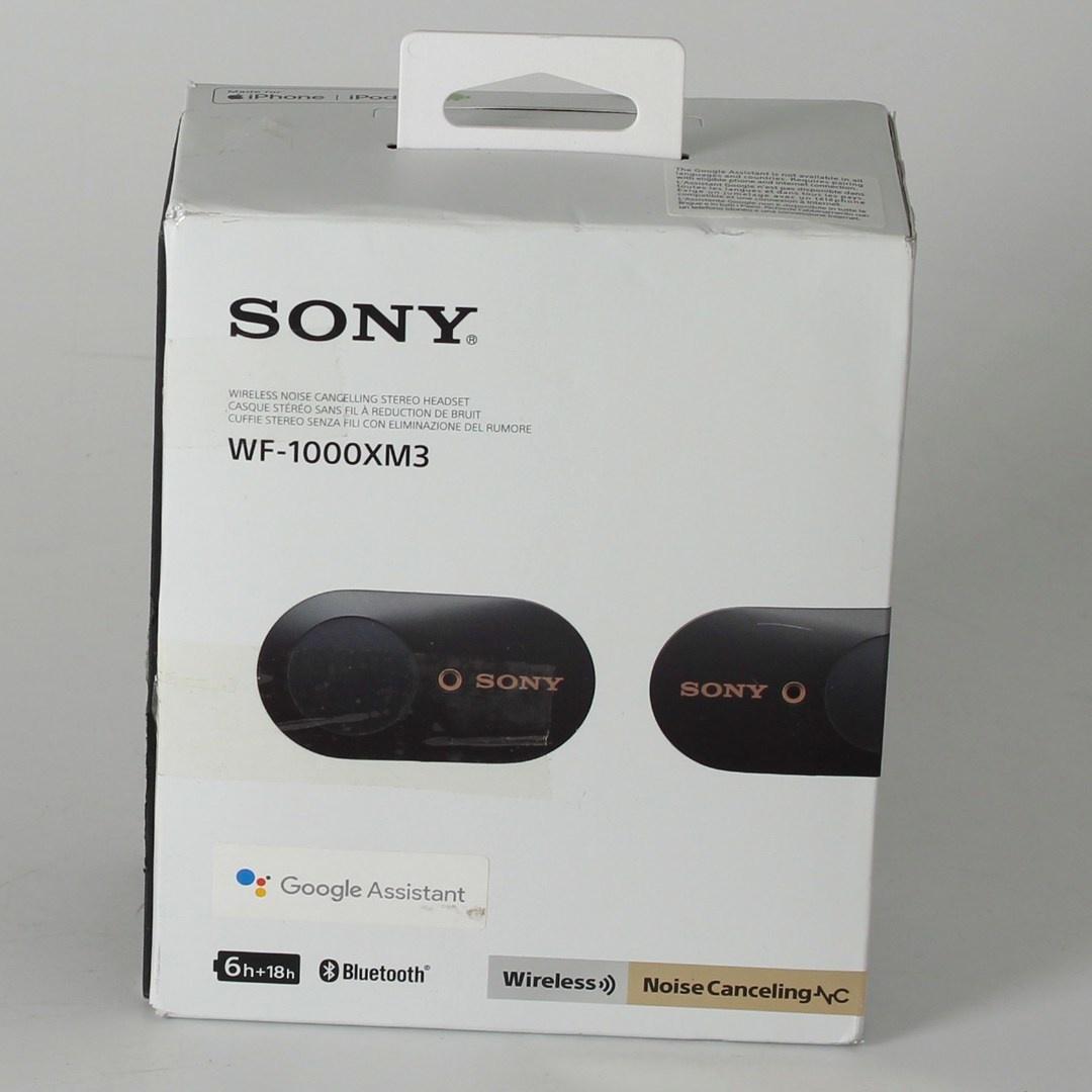 Bezdrátová sluchátka Sony WF-1000XM3 černá