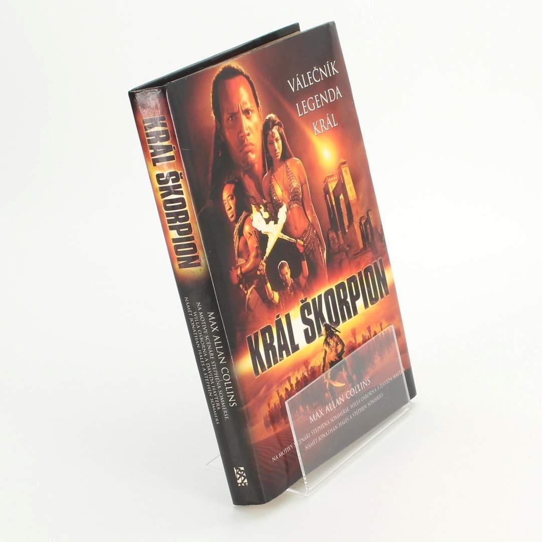 Kniha Král Škorpion Max Allan Collins