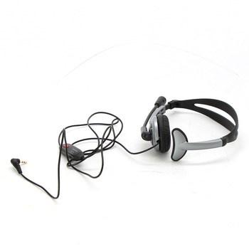 Headset Panasonic RP-TCA430E-S, černošedá