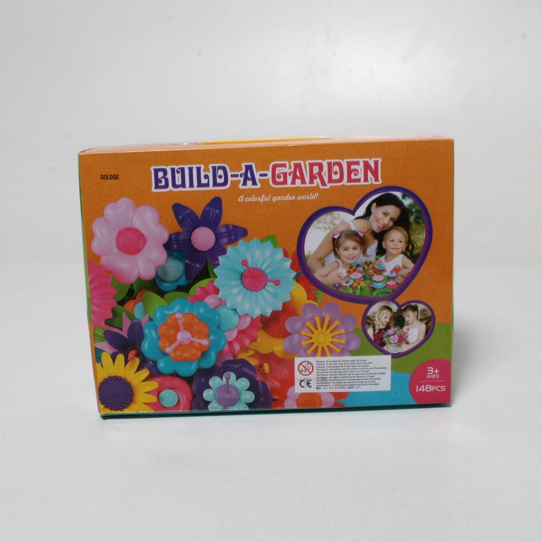 Dětská stavebnice Goldge Květinová zahrada