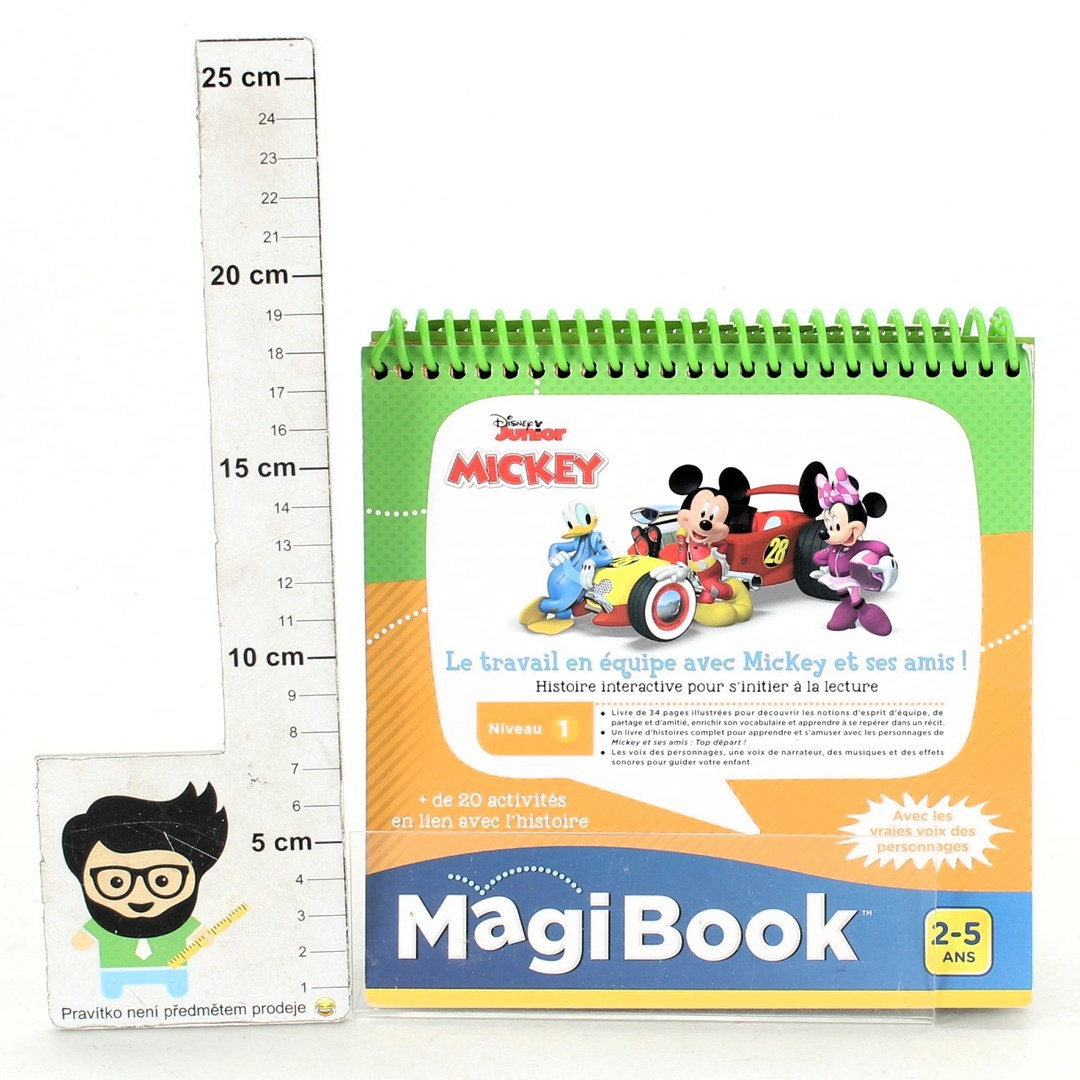 Interaktivní kniha Vtech Magi Book Mickey