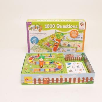 Vzdělávací hra Lisciani Carotina 1000 Fragen