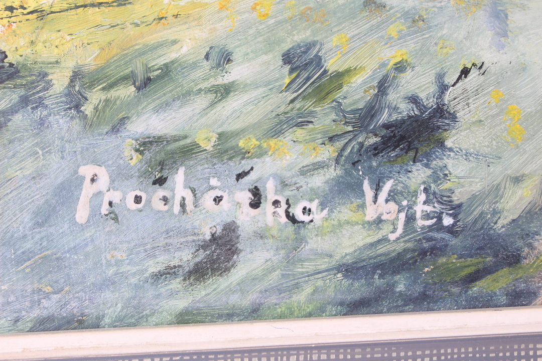 Obraz v rámu olej od Vojtěcha Procházky