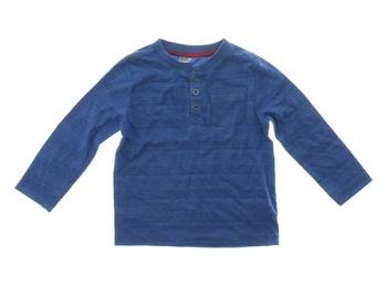 Dětské tričko F&F modré s knoflíky