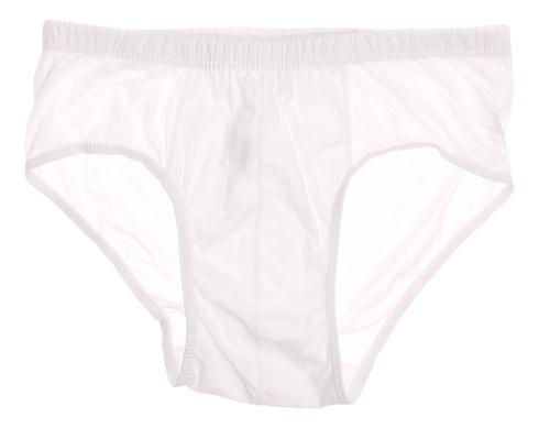 Pánské bavlněné slipy bílé