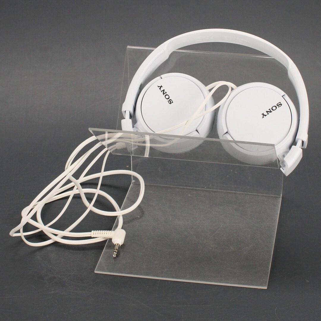 Náhlavní sluchátka Sony MDR-ZX110 bílá