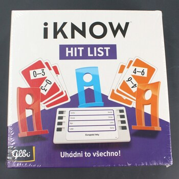 Společenská hra Albi iKnow Hit List