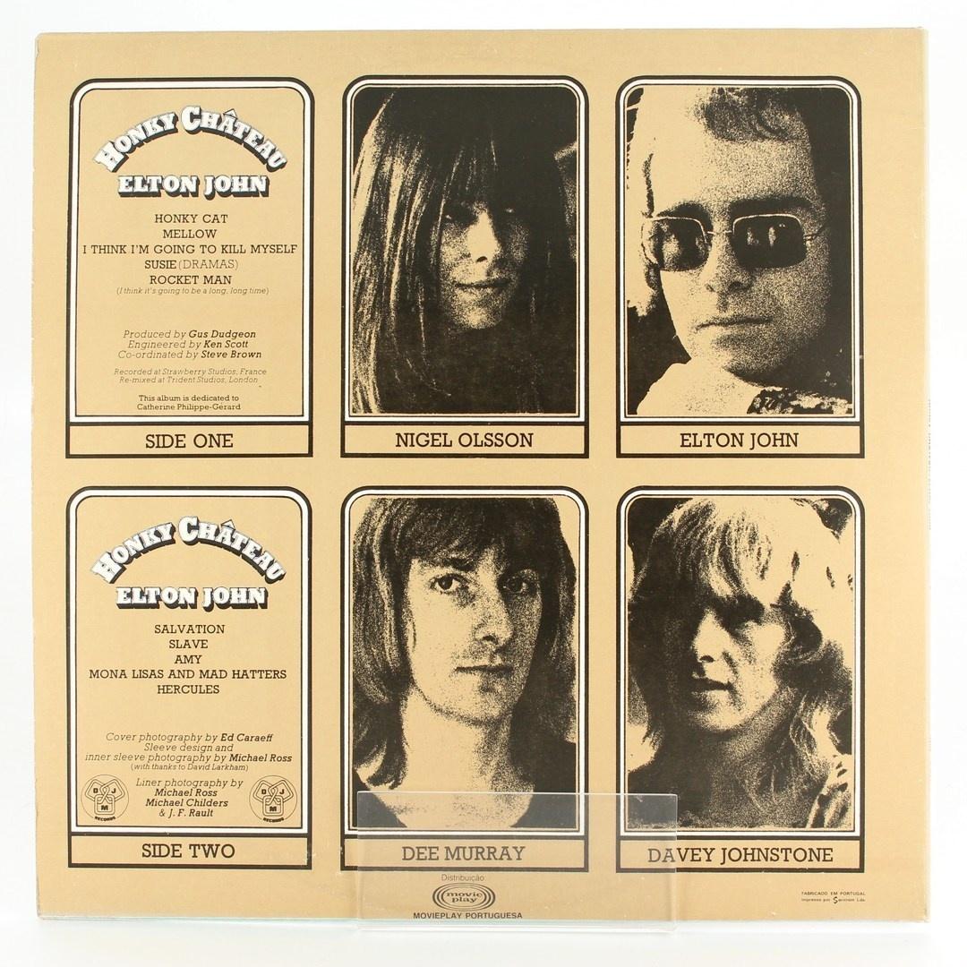 LP: Honky Chateau, Elton John