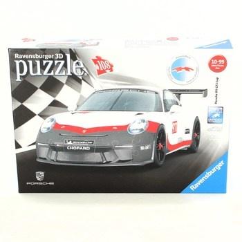 3D puzzle Ravensburger Porsche 911 GT3 Cup