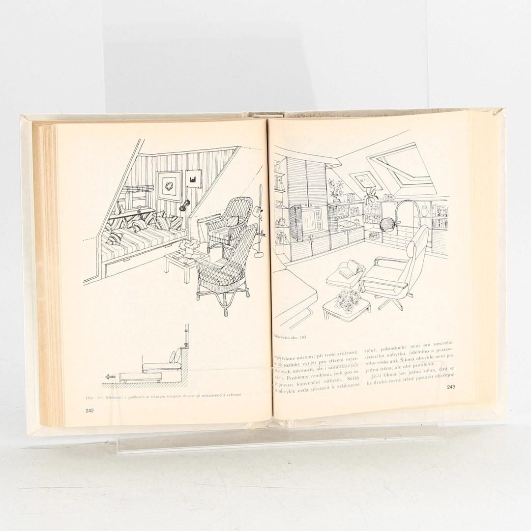 Kniha Dekorativní úpravy v bytě