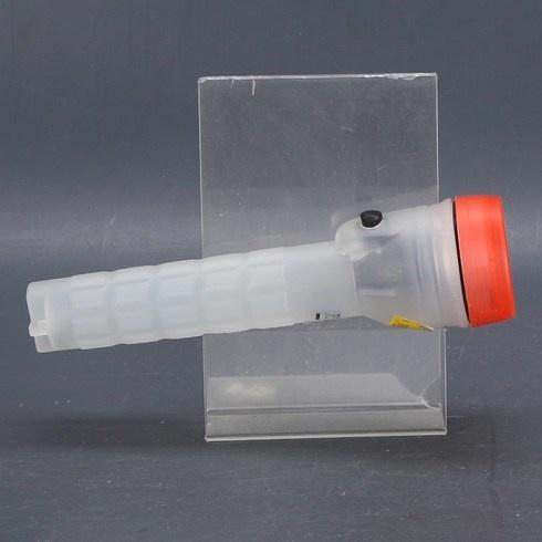 LED svítilna plastová 22 cm oranžová
